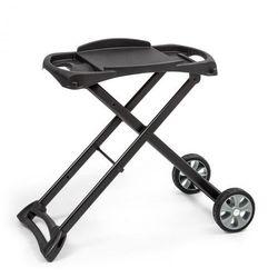 Klarstein Parforce Stand, stół do grillowania, akcesoria, koła PE, składany, czarny (4060656151019)
