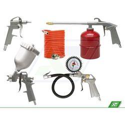 Zestaw lakierniczy Vorel 81638 5 części z kategorii Pistolety do malowania