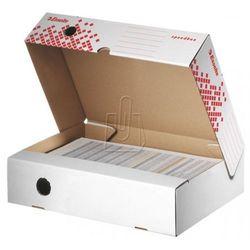 Pudło archiwizacyjne Speedbox 80mm białe otwierane z szerszej strony 623910