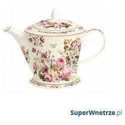Czajnik porcelanowy 1l blooming opulence biały marki Nuova r2s