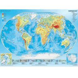 Świat fizyczny Mapa ścienna 1:43 300 000 (mapa szkolna)