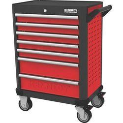 Kennedy Wózek warsztatowy na kółkach 7-szufladowy 550kg ken5942340k (5036140258815)