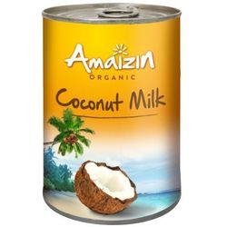 AMAIZIN 400ml Mleko kokosowe 17% Bio | DARMOWA DOSTAWA OD 200 ZŁ