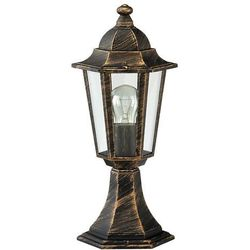 Zewnętrzna LAMPA stojąca VELENCE 8236  IP43 OPRAWA ogrodowa SŁUPEK outdoor złoto antyczne, marki Rabalux do zakupu w =MLAMP.pl= | Rozświetlamy Wnętrza