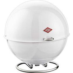 Wesco - Pojemnik na pieczywo SuperBall - biały - biały z kategorii Chlebaki