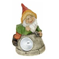 Lampa solarna krasnal figurka kamienna DONICA - donica