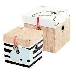 Pudełka DONE BY DEER 50505 Małe (2 sztuki) z kategorii Pozostałe meble do pokoju dziecięcego