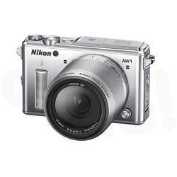 Nikon 1 AW1 + 11-27.5mm (srebrny) - produkt w magazynie - szybka wysyłka! ()