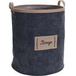 Storagesolutions Materiałowy kosz na pranie z uchwytami, torba na pranie, kosz na pranie tekstylny, kosz łazienkowy, pojemnik na pranie