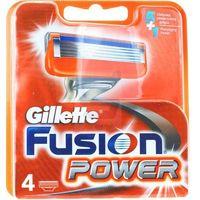 Procter & gamble Wkłady do maszynek gillette fusion power (4 sztuki) (7702018867219)