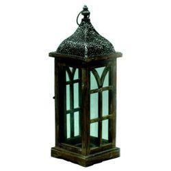 Latarnia drewniana Orient 50 cm, 66336