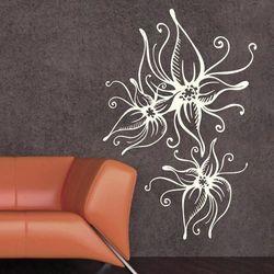 Kwiaty 1200 szablon malarski marki Deco-strefa – dekoracje w dobrym stylu