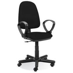 krzesło obrotowe, tema gtp6 profil splot czarny marki Nowy styl