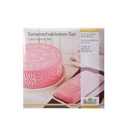 Szablony do dekoracji tortów pattern 2 szt. odbierz rabat 5% na pierwsze zakupy marki Birkmann