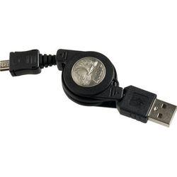 Asp inc. Zwijany kabel asp usb / usb micro 80cm (53042)