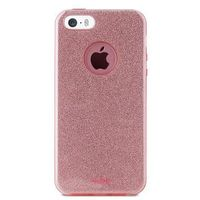 Etui PURO Glitter Shine Cover do iPhone 5/5s/SE Różowy (8033830170942)