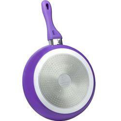 28cm patelnia z powłoką ceramiczną / rl-bf28c purple / 01-091 marki Royalty line