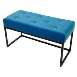 Pufa glamour mała kardik niebieska marki Decoartimo