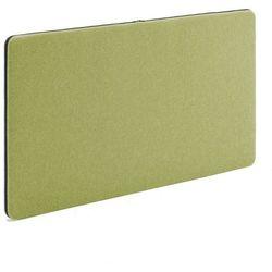 Ścienny panel dźwiękochłonny zip 1200x650 mm zielony czarny suwak marki Aj
