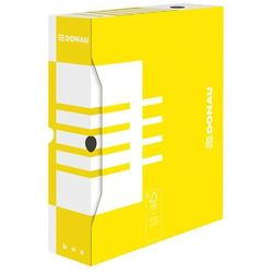 Pudełko archiwizacyjne 80mm żółte marki Donau