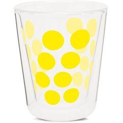 Zak! Szklanka z podw. ściankami 200ml, żółta Przezroczysty, zółty (0707226844172)
