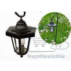 Garthen Lampa solarna dekoracyjna ogrodowa, mini latarnia led