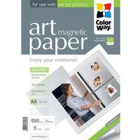 ARSEJ Papier Magnetyczny Błyszczący ColorWay A4 690g