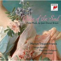 Voice of the Soul - Flute Music by Jean Daniel Braun (CD) - Marion Treupel-Franck