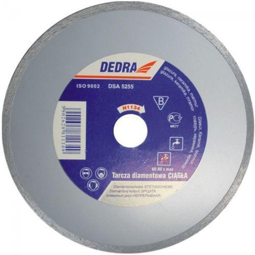 Tarcza do cięcia DEDRA H1137 diamentowa + DARMOWA DOSTAWA! - oferta [155a6020f5652596]