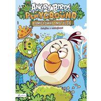 Angry Birds Playground. Łamigłówki z Matyldą. Książka z naklejkami + zakładka do książki GRATIS, prac
