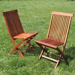Krzesła Ogrodowe Akacja 2szt - Meble CALABRIA 50x94x54,5cm