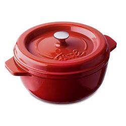 arcana brytfanna żeliwna 25cm czerwona marki Fissler
