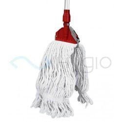 Zestaw kij aluminiowy + mop sznurkowy bawełna 400gr. + zapinka marki Agrobud