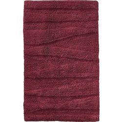 Zone denmark Dywanik łazienkowy flow 80 x 50 cm czerwony
