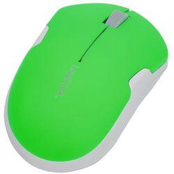 Bezprzewodowa mysz podróżna 2,4 GHz, Autolink ID0123 LogiLink Neon-Zielony (mysz)