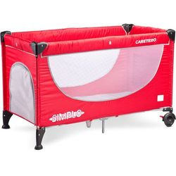 Caretero Simplo (czerwony) - produkt w magazynie - szybka wysyłka! - produkt z kategorii- Łóżeczka i koły