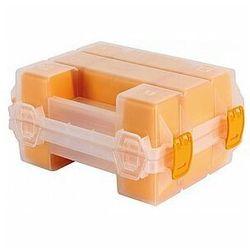 Perel podwójny organizer - żółty - 195 x 145 x 95 mm (5410329632991)