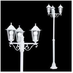 Zewnętrzna LAMPA stojąca LATERNA 5 22996 Eglo ogrodowa LATARNIA aluminiowa OPRAWA IP33 outdoor biała - sprawdź w =MLAMP.pl= | Rozświetlamy Wnętrza