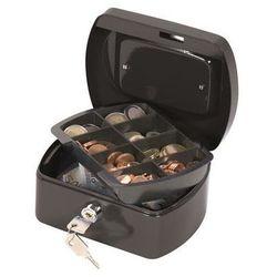 Kasetka na pieniądze , mała, 155x75x120mm, czarna marki Q-connect