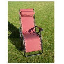 Fotel ogrodowy 2320 OXFORD bordowy