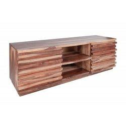 INVICTA stolik RTV RELIEF 150 cm - Sheesham, drewno naturalne