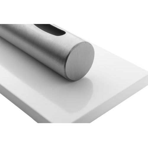 Kominek stołowy Stainles biały połysk by , produkt marki Globmetal