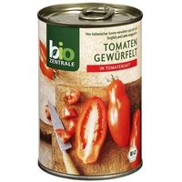 Pomidory pokrojone w kostkę 400g -  eko wyprodukowany przez Bio zentrale