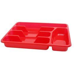 Wkład do szuflad standard czerwony 33 x 26 cm - zielony marki Smart kitchen
