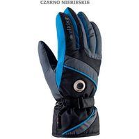 Viking Męskie rękawice narciarskie  trick czarno-niebieski 9