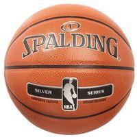 Spalding NBA SILVER Piłka do koszykówki orange (4051309623243)