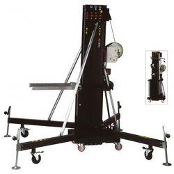 Fantek T-108 PA statyw, winda do systemów liniowych, czarna, 6m/350kg. - sprawdź w wybranym sklepie