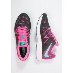 Nike Performance ZOOM WINFLO 3 Obuwie do biegania treningowe black/clear pink (buty do biegania) od Zalando.pl