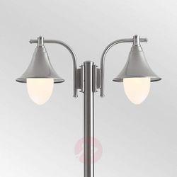 Lcd 2-punktowa latarnia ogrodowa marlitt, stal (8033239440578)