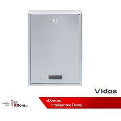 Vidos S1201A-SKP Skrzynka na listy z wideodomofonem i czytnikiem kart (5907281202671)